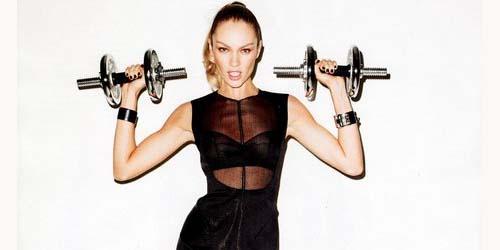 Candice Swanepoel Seksi di Majalah Harper's Bazaar