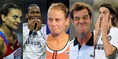 - ekspresi-wajah-aneh-pelatih-atlet-dalam-pertandingan