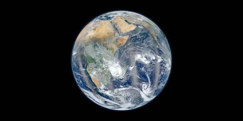 Indahnya Bumi Dilihat dari Luar Angkasa
