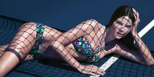 'Kendal Jenner' Adik Kim Kardashian Menggoda di Flavor Magazine