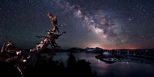 Menakjubkan, Pemandangan Langit Amerika Dengan Banyak Bintang