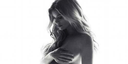 Model Victoria Secret, Marisa Miller Berpose Bugil Saat hamil di Majalah Allure