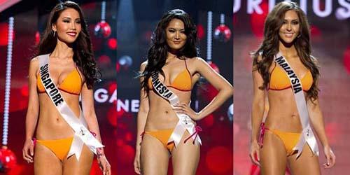 Parade Bikini Miss Universe 2012, Siapa yang paling seksi ?
