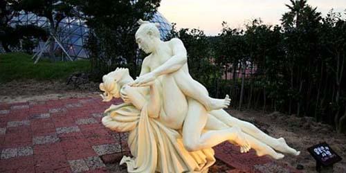 Patung 'Porno' di Berbagai Negara