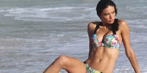 Pemotretan Seksi Model Adriana Lima Untuk Iklan Victoria Secret