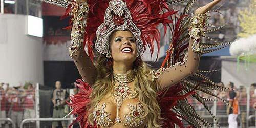 Seksinya Karnaval Rio Brazil