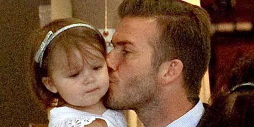 So Cute! Kumpulan Foto Harper Seven Beckham