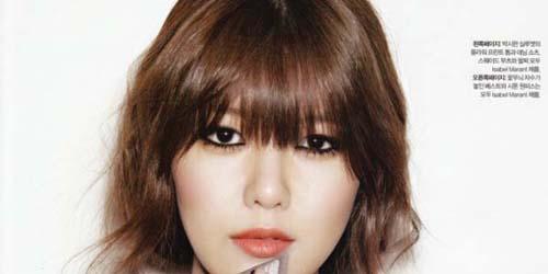 Sooyoung Girls' Generation Tampil Cantik Menawan untuk Bazaar