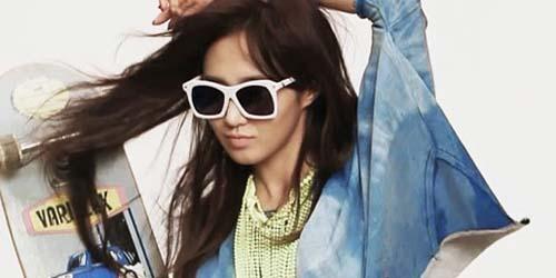 Yuri Girls' Generation Tampil Seksi dan Sporty di Cosmopolitan