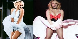 Britney Spears Manggung Dengan Tirukan Gaya Marilyn Monroe