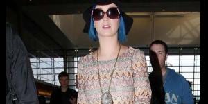 Foto Katy Perry Saat Berangkat Menuju Indonesia