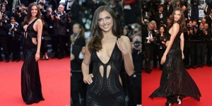 Irinya Shayk Tampil Super Hot di Cannes