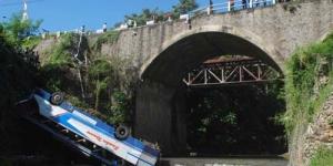 Kumpulan Foto Kecelakaan Bus Maut Pencabut Nyawa