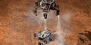 Pendaratan Robot Penjelajah di Planet Mars
