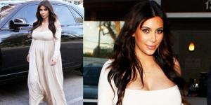Usai Melahirkan, Ukuran Payudara Kim Kardashian Jadi Cup G