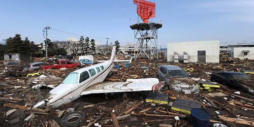 2014, 25 Juta Ton Sampah Akibat Tsunami Jepang Hantam Amerika Utara