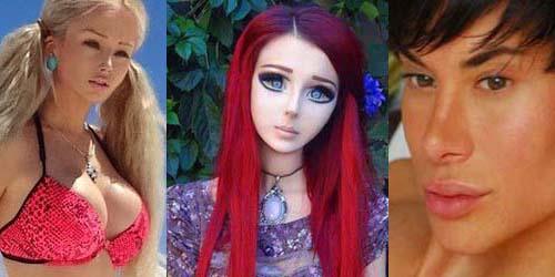 3 Manusia Barbie Dunia Nyata