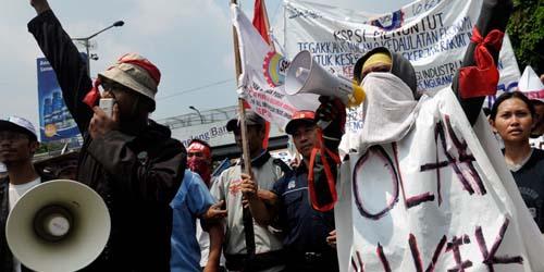 4 Kesepakatan Demo Buruh Bekasi