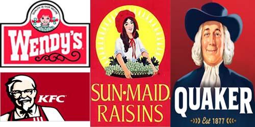 4 Logo Produk Makanan Bergambar Wajah yang Mendunia