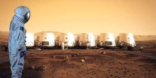 4 Orang Manusia Akan Dikirim untuk Tinggal di Planet Mars