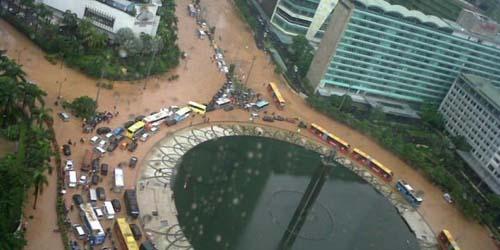 5 Faktor Penyebab Jakarta Banjir