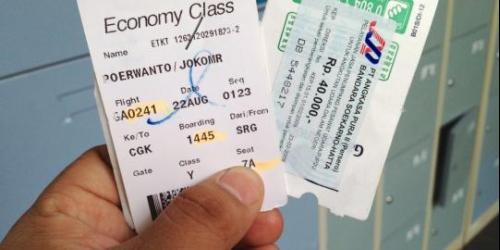 Airport Tax Garuda Indonesia Sudah Digabung Dengan Harga Tiket