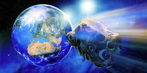 NASA : Berdoalah, Asteroid Besar Akan Jatuh di Bumi