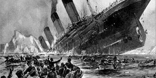Foto Gunung Es Penyebab Tenggelamnya Titanic Telah Ditemukan