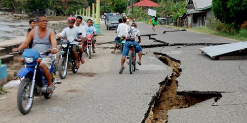 Gempa 6,8 SR di Filipina, Renggut 43 Nyawa