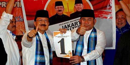 Kalah dari Jokowi Diputaran Pertama, Foke Ganti Jargon Kampanye