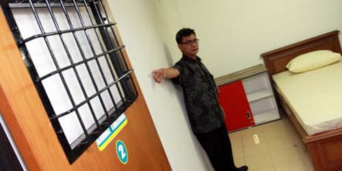 Mengintip Ruang Tahanan KPK