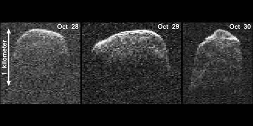 NASA Tampilkan Gambar Asteroid yang Melintasi Bumi
