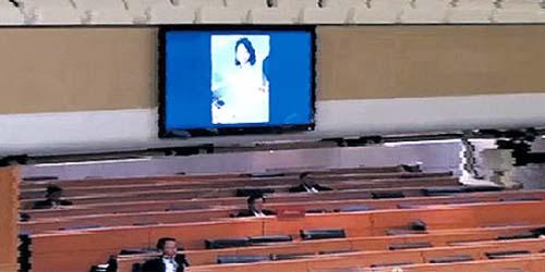 Wuih! Muncul Gambar Wanita Bugil di Monitor Parlemen Thailand