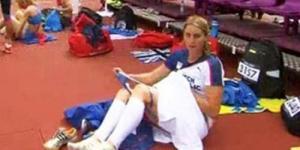 Atlet Cantik Olimpiade London Ganti Celana Dalam di Lapangan
