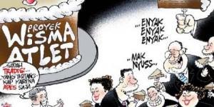 Demokrat Partai Paling Dibenci Rakyat Karena Bunkernya Koruptor ?