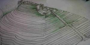 Inilah Sketsa Piramida Gunung Padang