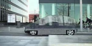 Invisible Car dari Mercedes-Benz