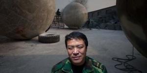 Liu Qiyuan Bangun Bola Raksasa 'Bahtera Nuh' untuk Hadapi Gempa dan Tsunami