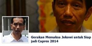 Pengguna Facebook 'Paksa' Jokowi jadi Presiden 2014