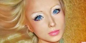 'Valeria Lukyanova' Wanita Rusia Berwajah Barbie Terpopuler