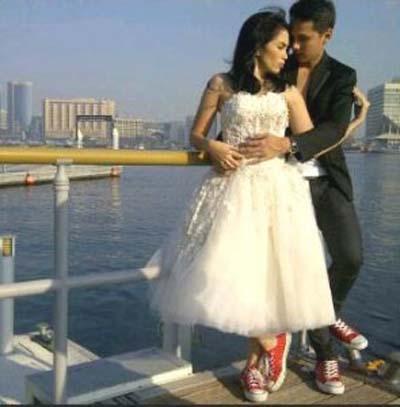Foto-foto Pre Wedding Andhika Pratama & Ussy Sulistiawati - 2