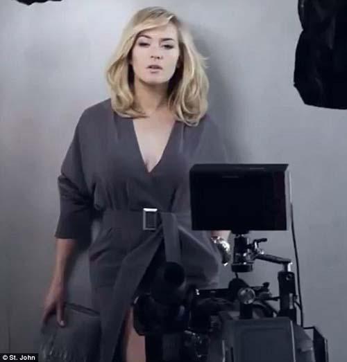 Behind The Scene: Pemotretan Kate Winslet Untuk St. John