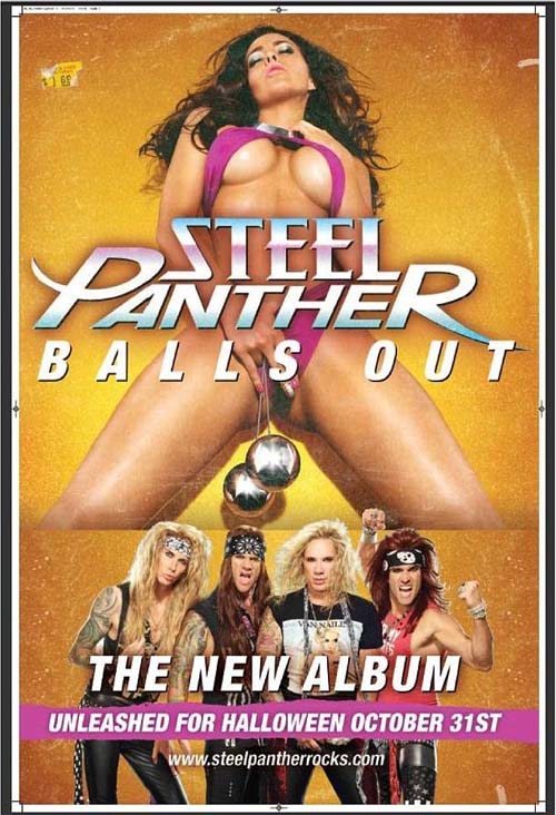 Phrase Steel panther balls out think, that