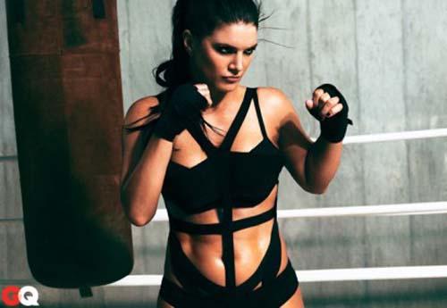 Gina Carano jadi Atlet Boxing Seksi di Majalah GQ