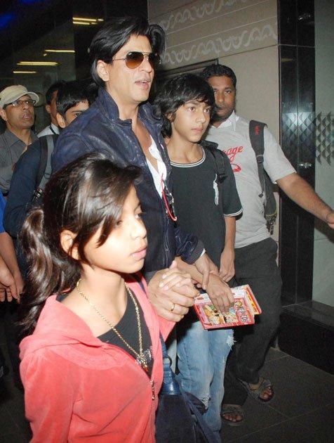 Shahrukh Khan dan Keluarganya