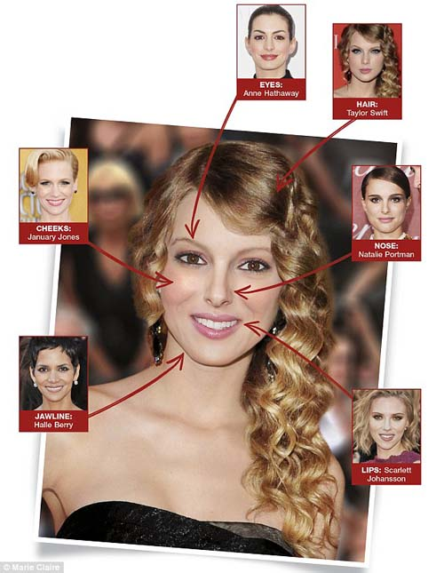 , majalah Marie Claire Australia telah mempublikasikan figur wanita ...