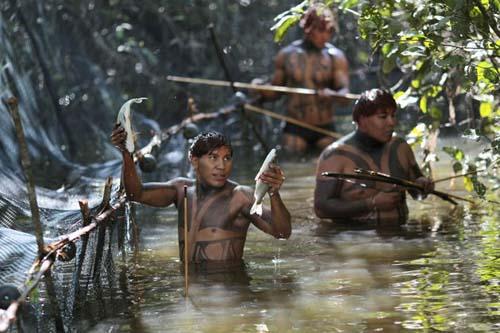 Potret Kehidupan Suku Amazon
