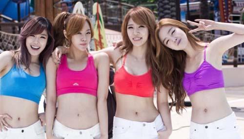 6 Seleb Korea Terseksi Saat Berbikini