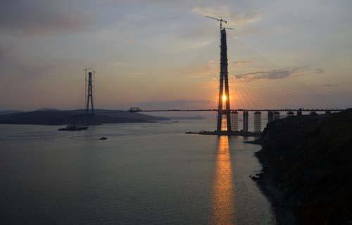 Jembatan Gantung Rusia Terpanjang di Dunia
