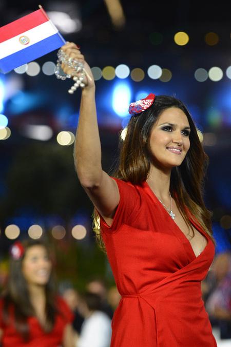 'Leryn Franco' Atlet Terseksi Idola Olimpiade 2012